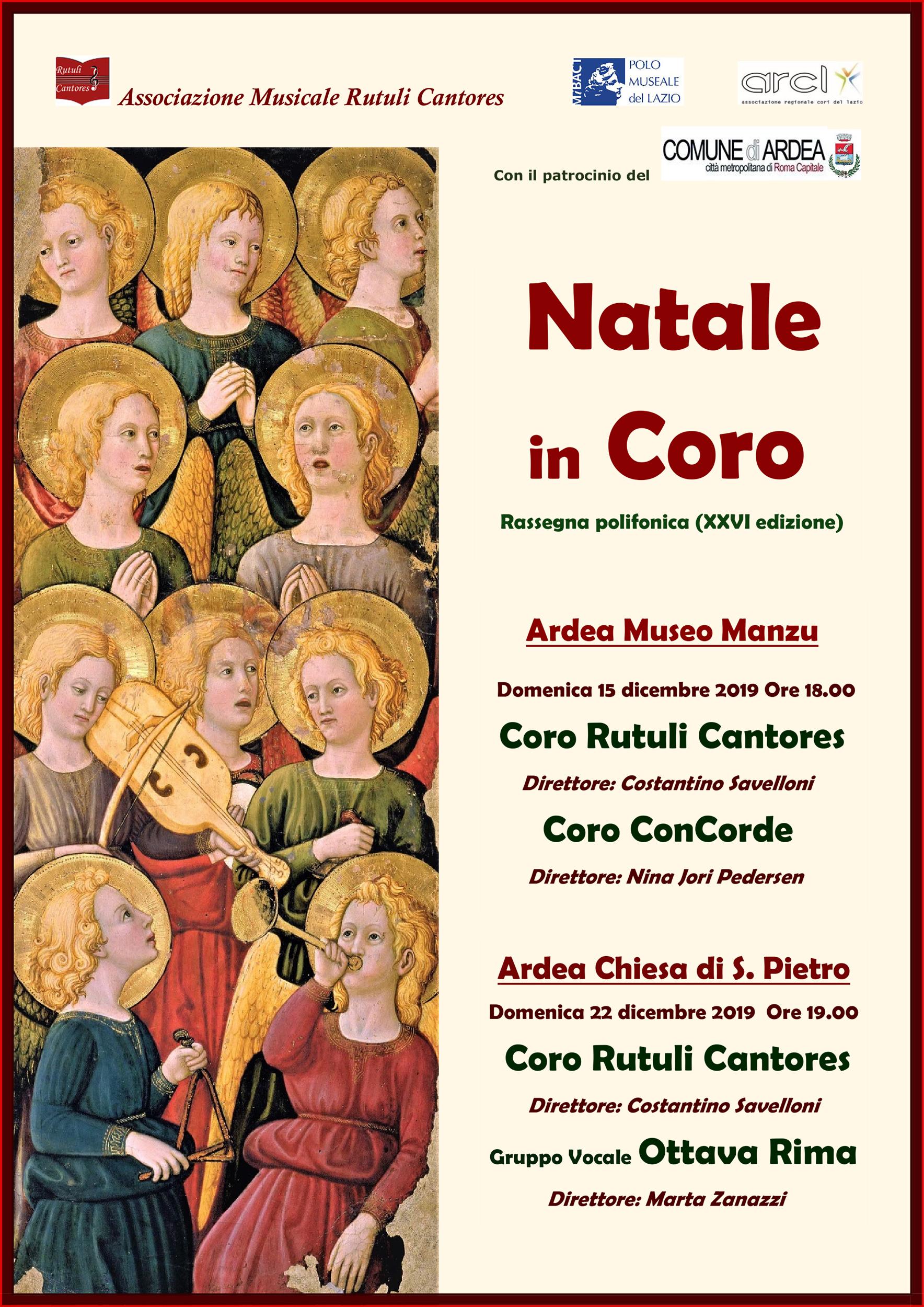"""Natale in Coro"" 2019"