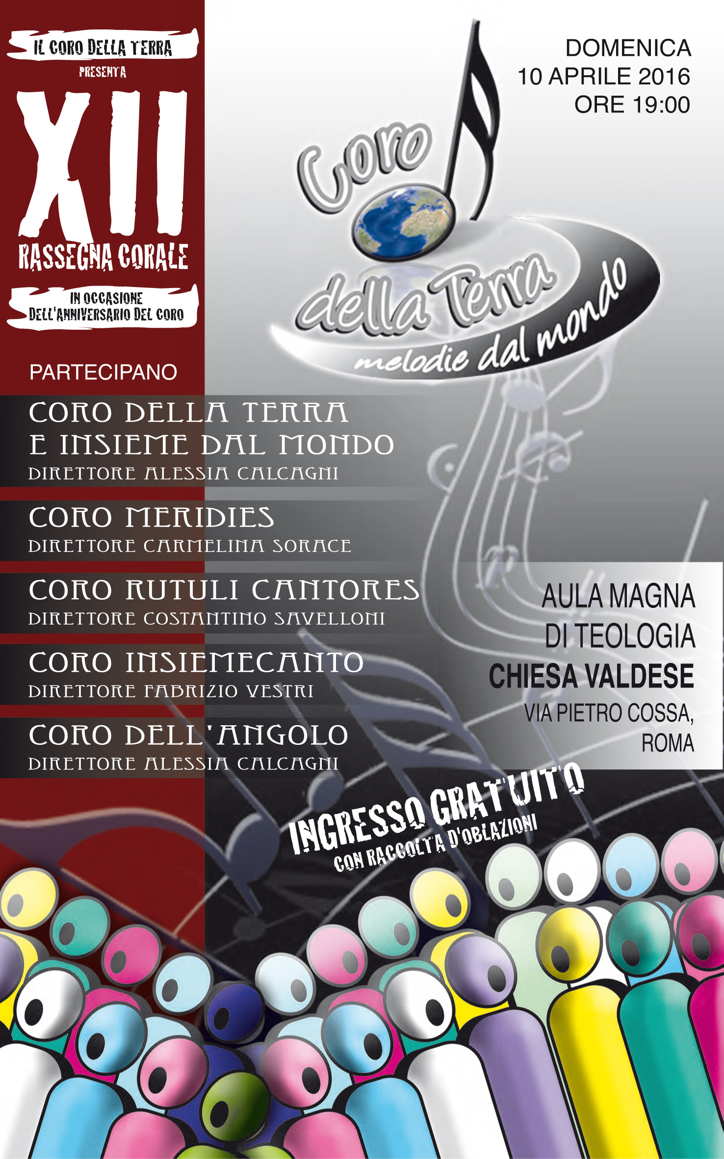 """XI Rassegna Corale del """"Coro della Terra"""""""