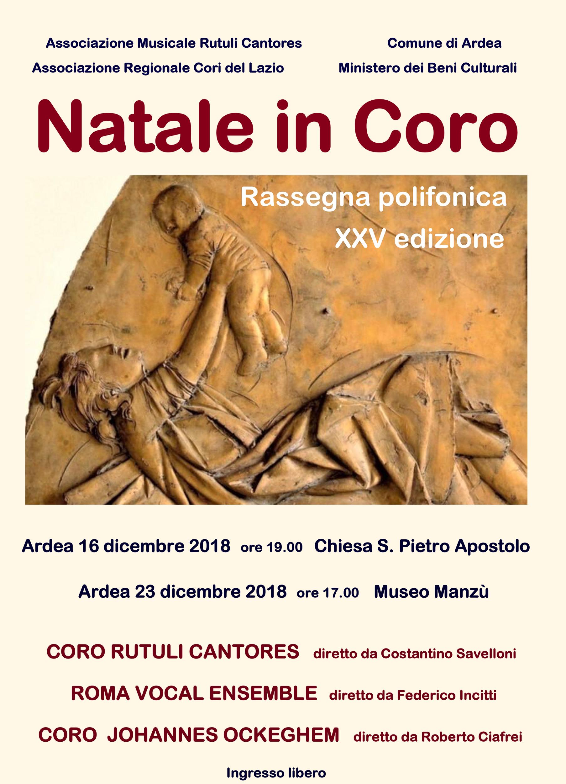 """Natale in Coro"" 2018"