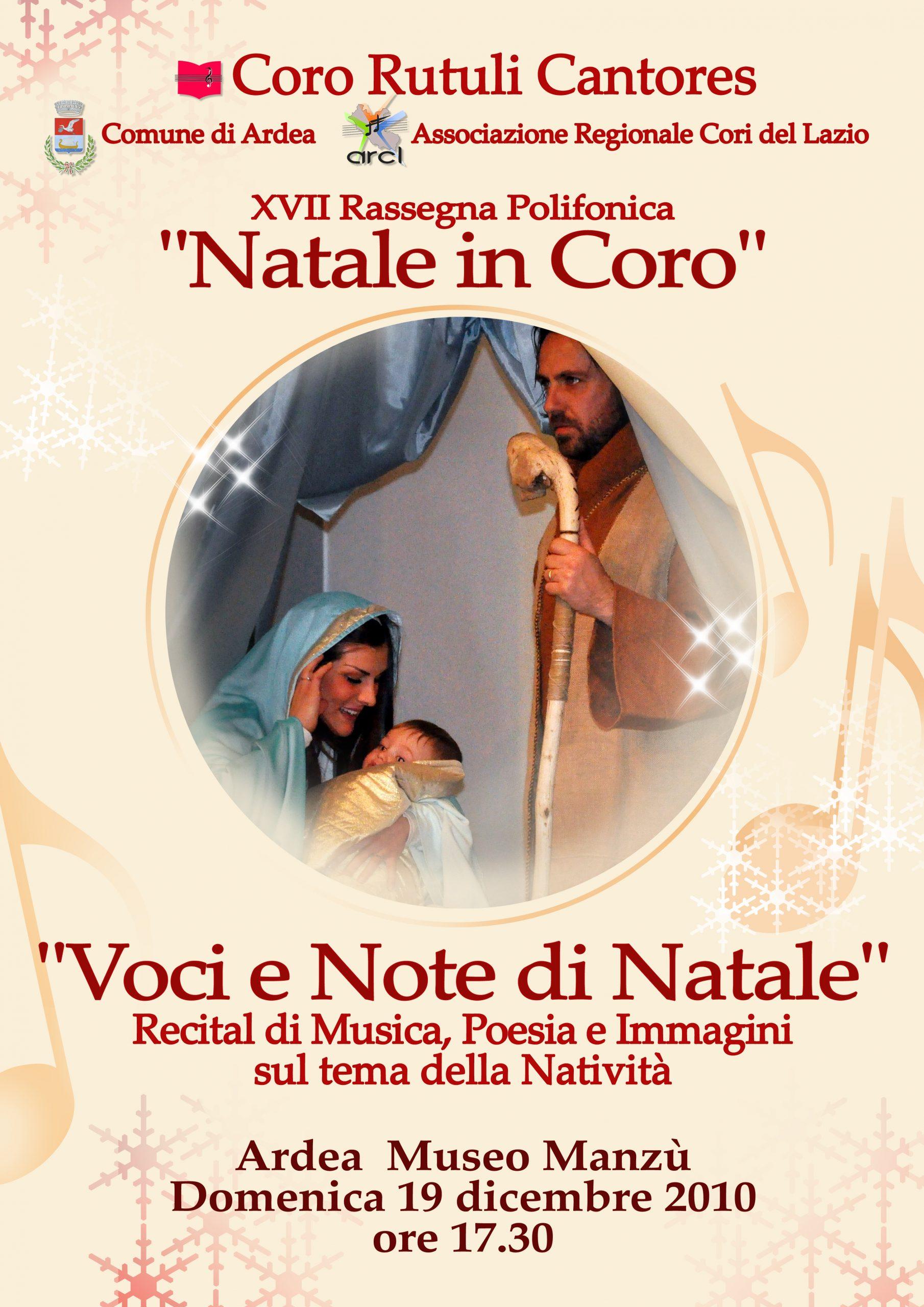 """Natale in Coro"" 2010"