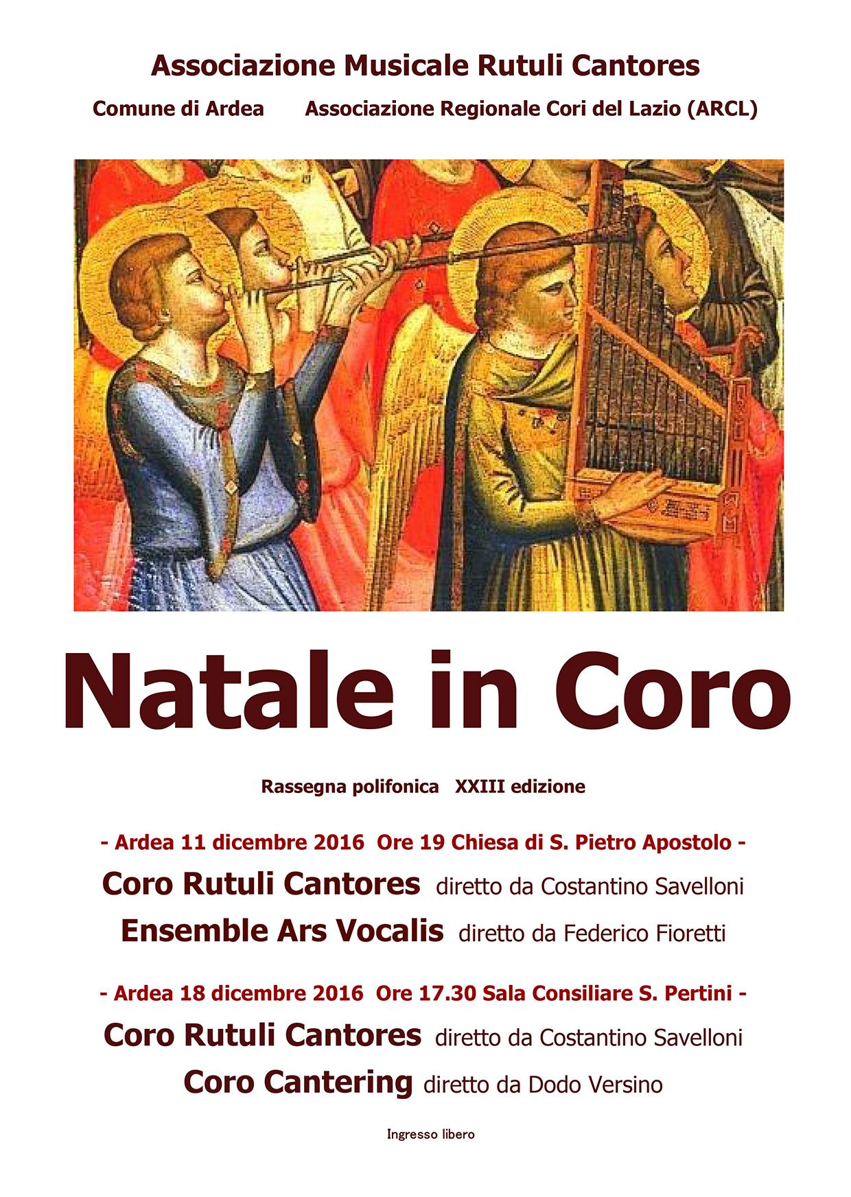 """Natale in Coro"" 2016"