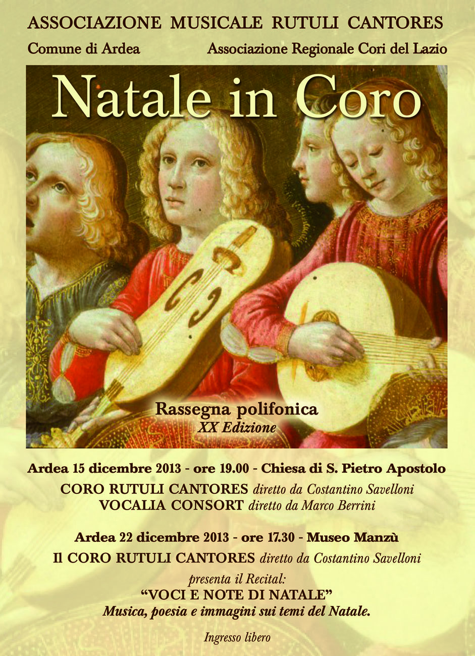 """Natale in Coro"" 2013"