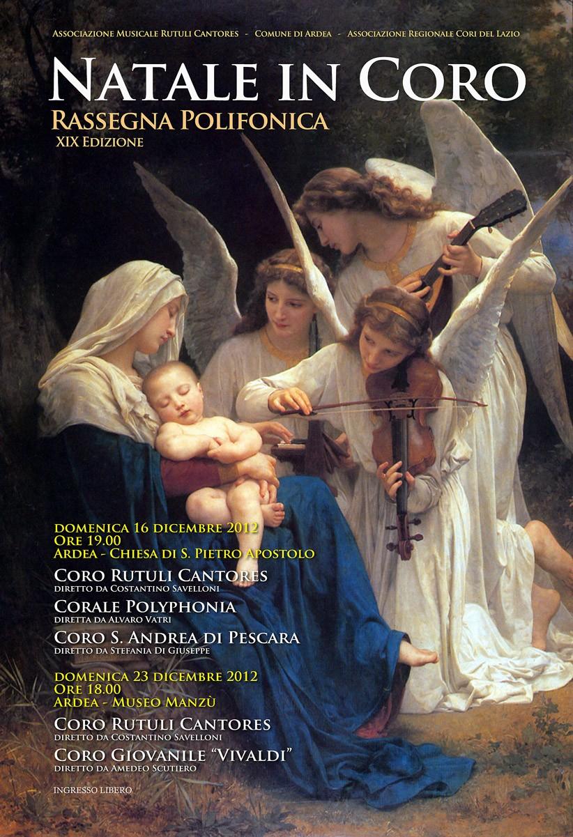 """Natale in Coro"" 2012"