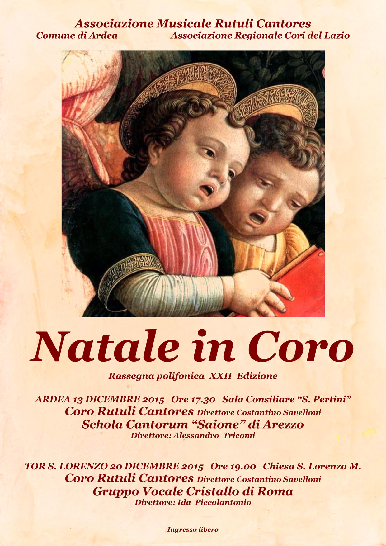 """Natale in Coro"" 2015"