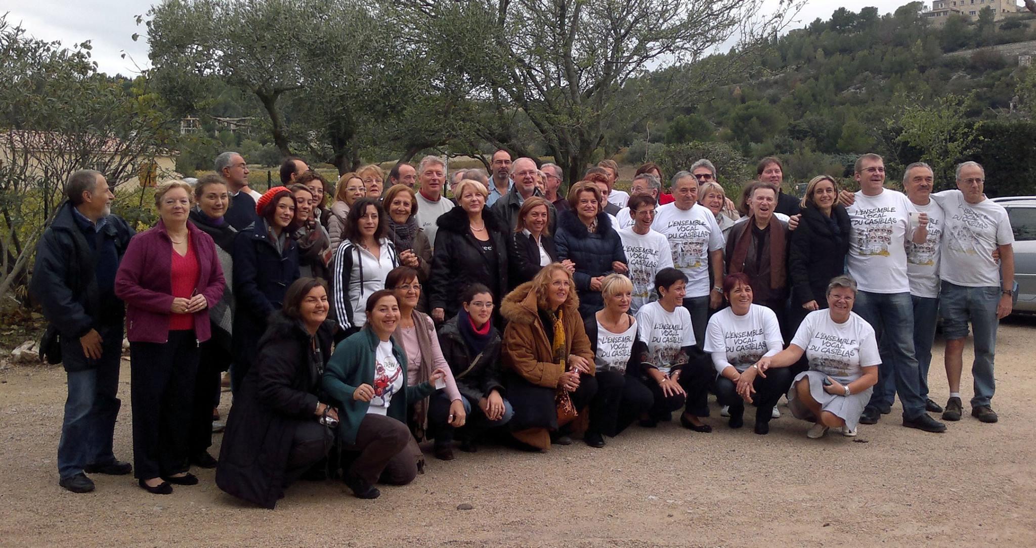 2012 – I Rutuli Cantores a Rochefort du Gard (Francia)