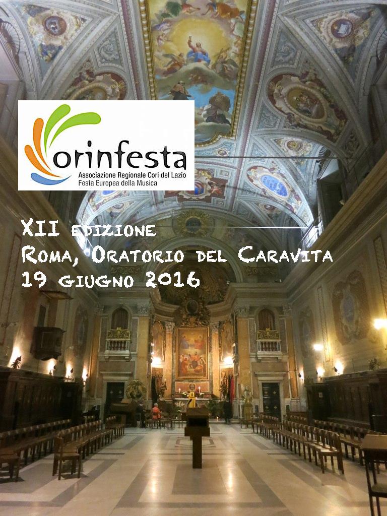12° edizione Corinfesta (22° Festa della Musica)