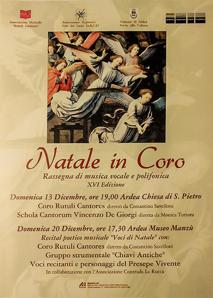 """16° rassegna """"Natale in Coro"""""""